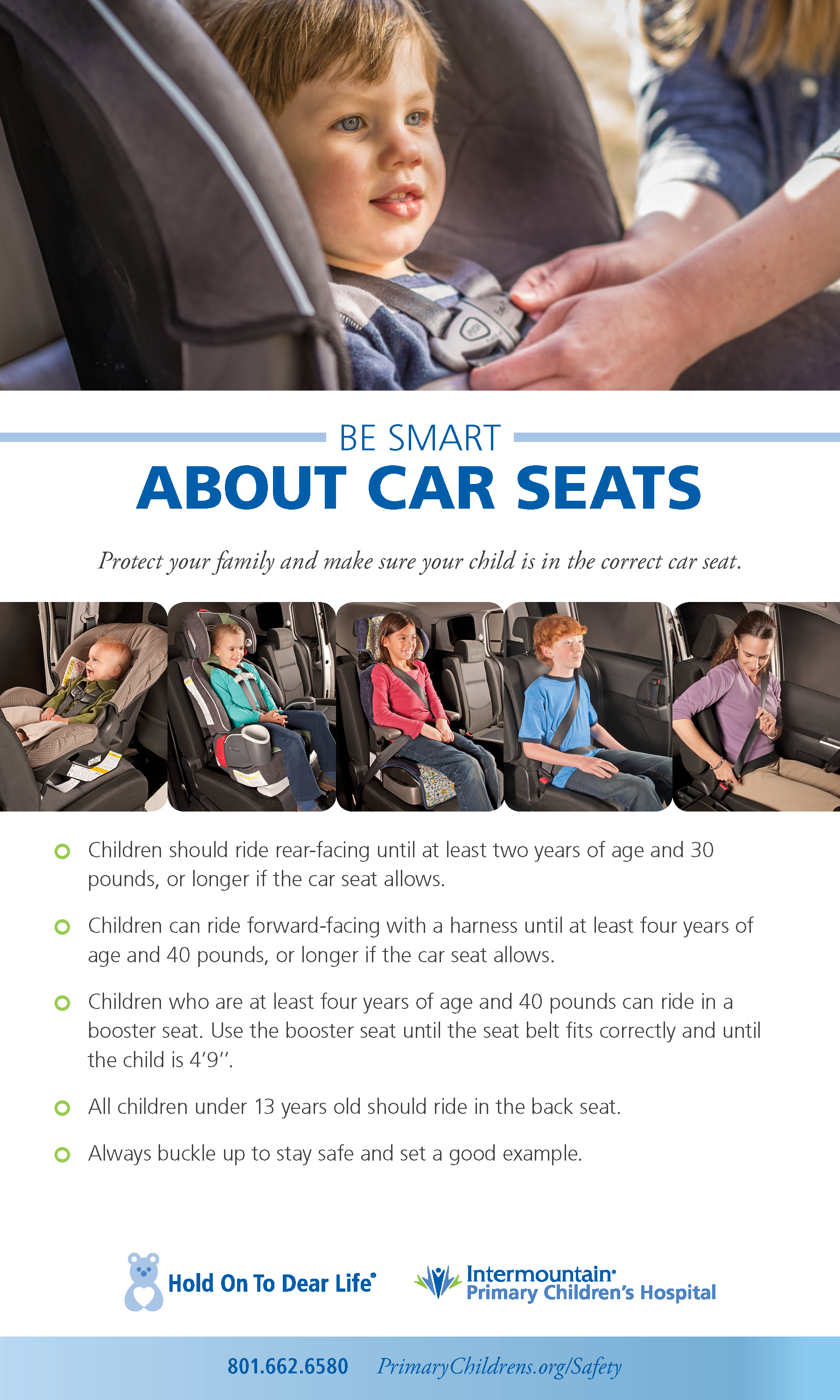 Be Smart About Car Seats