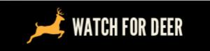 Watch for deer website logo
